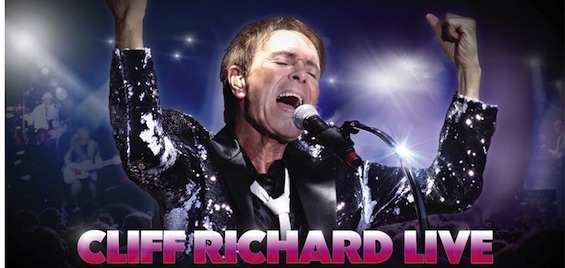 ABERYSTWYTH ARTS CENTRECLIFF RICHARD LIVE: 60TH ANNIVERSARY TOUR8pm, Friday 12 October3pm, Sunday 14 October