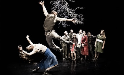 National Dance Company Wales' Autumn tour, Roots, will feature four short, sharp dances
