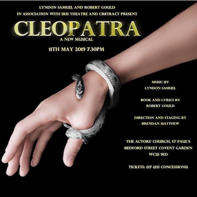 CLEOPATRA The Musical In Concert