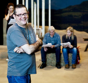 Mike Povey directs his latest play