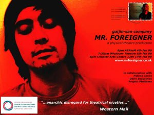 Mr Foreigner