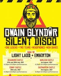 review of Owain Glyndŵr Silent Disco ; click here to read the full review