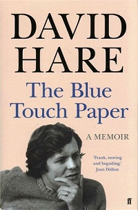 "Theatre Writer Book by David Hare ""The Blue Touch Paper"""