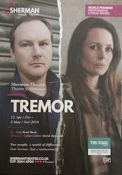 Tremor by Sherman Theatre Company