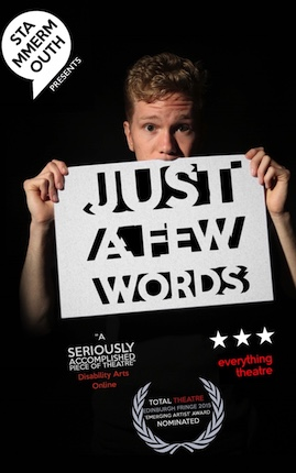 review of Just a Few Words ; click here to read the full review
