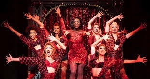 review of Kinky Boots ; click here to read the full review