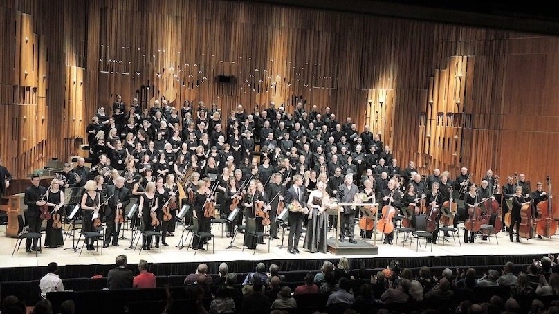 Charles Ives, Philip Glass & Igor Stravinsky  by London Orchestra da Camera, Crouch End Festival Chorus & Inner Voices,