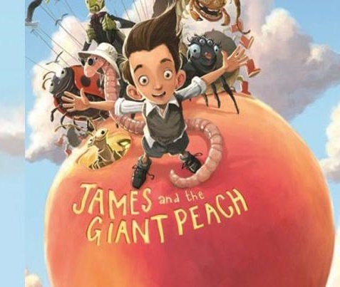 review of James and the Giant Peach ; click here to read the full review