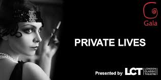 Private Lives by Noel Coward.  by . London Classic Theatre