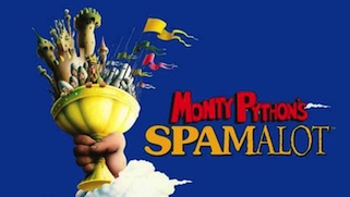 review of Monty Python's Spamalot ; click here to read the full review