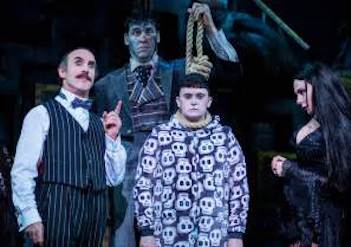 review of The Addams Family (The Musical Comedy) ; click here to read the full review